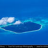 Southeast Asia - Malaysia - Borneo - Sabah - Mengalum Island - Pulau Mengalum - Small, tranquil island featuring picturesque beaches with beautiful shallow water - Crystal Clear Waters of Islands in South China Sea