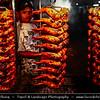 Southeast Asia - Malaysia - Borneo - Sabah - Kota Kinabalu - Life on Traditional Market - Local Grilled Chicken