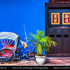 Malaysia - Penang - George Town - Unesco World Heritage Site - Cheong Fatt Tze Mansion - Blue Mansion - Remarkable Chinese Mansion in Malaysia