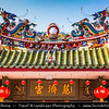 Malaysia - Penang - George Town - Yap Kongsi Clan Temple - Beautiful temple dedicated to the Chinese god of prosperity - Unesco World Heritage Site