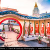 Malaysia - Penang - George Town - Unesco World Heritage Site - Kek Lok Si Temple - Buddhist temple situated in Air Itam in Penang - One of the best known temples on the island