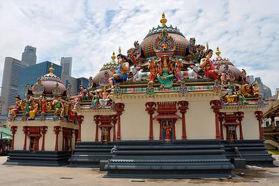 Singapore - Mariamman Temple Complex