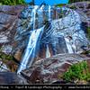 Malaysia - Kedah - Pulau Langkawi - Langkawi Island - Telaga Tujuh Waterfalls - Seven Wells - Collection of seven intertwined natural pools fed by seven separate waterfalls in Mount Mat Cincang