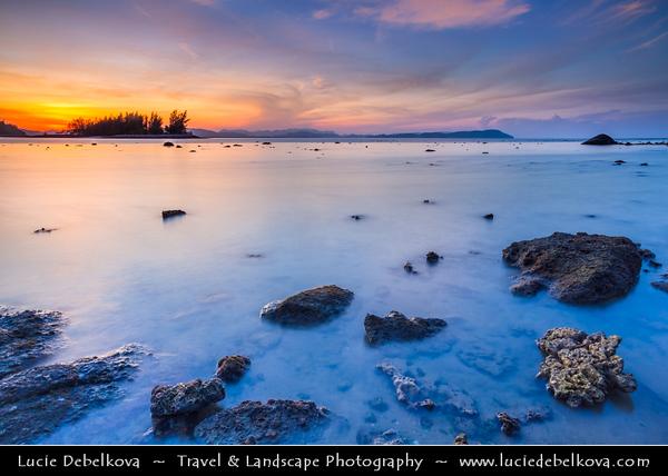 Malaysia - Kedah - Pulau Langkawi - Langkawi Island - Tropical Berjaya Beach - Relaxing location amidst tropical greenery & sun-soaked shores of Andaman Sea - Sunrise