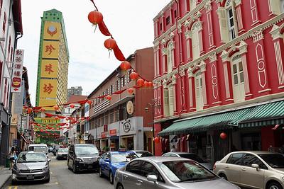 Singapore - Chinatown Streetscene