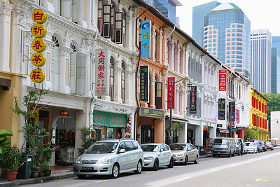 Singapore - Internet Café in Mosque Street
