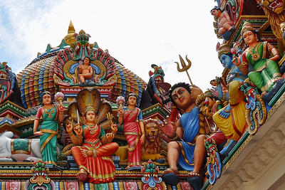 Singapore - Roof Goddesses