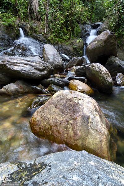 Waterfalls of the Garden of Eden valley
