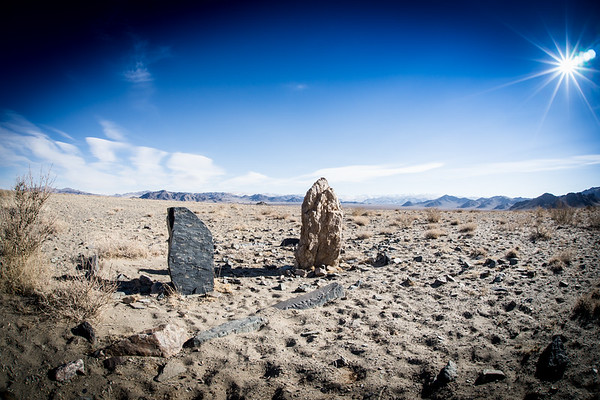 Ancient grave markers