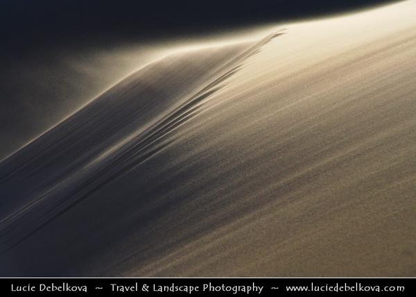 Asia - Mongolia - Монгол улс - Gobi Gurvansaikhan National Park - Говь гурван сайхан байгалийн цогцолбор газар - Gobi three beauties nature complex - Gobi Desert - Endless Sea of Khongor Sand Dunes - Singing Dunes - Largest & most spectacular sand dunes in Mongolia - Up to 800 m high, 20 km wide & about 100 km long