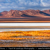 Asia - Mongolia - Монгол улс - Land of Vast Steppes & Kind Nomads - Central Mongolia - Gorkhi-Terelj National Park - Горхи-Тэрэлж - Stunning landscape with large natural beauty & interesting rock formations bathing in warm autumn colors located in Khentii Mountains