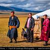 Asia - Mongolia - Монгол улс - Land of Vast Steppes & Kind Nomads - Khövsgöl Province - Хөвсгөл - Northernmost of the 21 provinces - Journey to Lake Khövsgöl - Traditional Life on Mongolian Steps