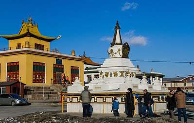 The Gandan Monastery