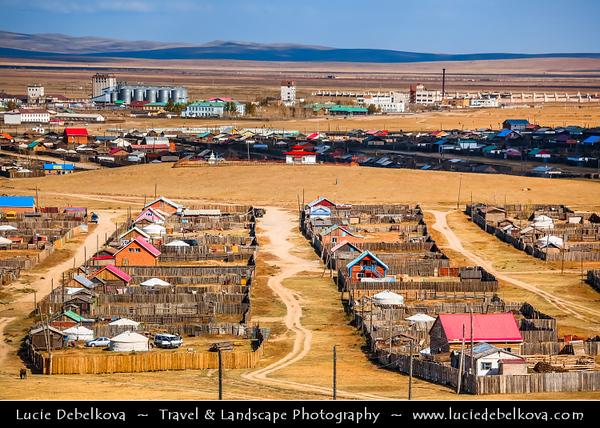 Asia - Mongolia - Монгол улс - Land of Vast Steppes & Kind Nomads - Övörkhangai Province - Kharkhorin & adjacent to ancient city of Karakorum
