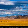 Asia - Mongolia - Монгол улс - Land of Vast Steppes & Kind Nomads - Central Mongolia - Arkhangai province - Khorgo-Terkhiin Tsagaan Nuur National Park - Khangai Mountains -