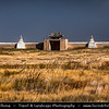 Asia - Mongolia - Монгол улс - Land of Vast Steppes & Kind Nomads - Övörkhangai Province - Kharkhorin & adjacent to ancient city of Karakorum - Erdene Zuu Khiid - Эрдэнэ Зуу - Tibetan Buddhist Monastery - Most ancient surviving Buddhist monastery in Mongolia