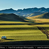 Asia - Mongolia - Монгол улс - Land of Vast Steppes & Kind Nomads - Saikhan Mountains of southern Mongolia - Mongolian way to travel - Life on Off Road