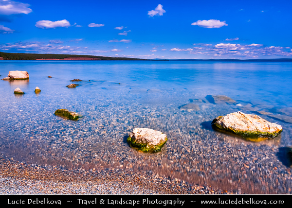Asia - Mongolia - Монгол улс - Land of Vast Steppes & Kind Nomads - Khövsgöl Province - Хөвсгөл - Northernmost of the 21 provinces - Lake Khövsgöl - Хөвсгөл нуур - Khövsgöl nuur - Khövsgöl dalai - Хөвсгөл далай - Dalai Eej - Далай ээж - Largest fresh water lake in Mongolia by volume & second largest by area - Nicknamed - Younger sister of the Sister Lakes (Lake Khövsgöl and Lake Baikal)