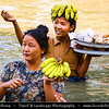 Asia - Myanmar - Burma - Mandalay Region - Ayeyarwady (Irrawaddy) River and its life along its banks