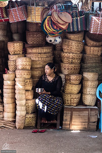 The lady of the baskets