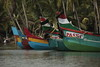 There are boats of many different stripes, most used for fishing and/or sand mining.