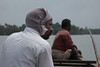 Suresh took us out on the tidal waters at the mouth of the Nila.
