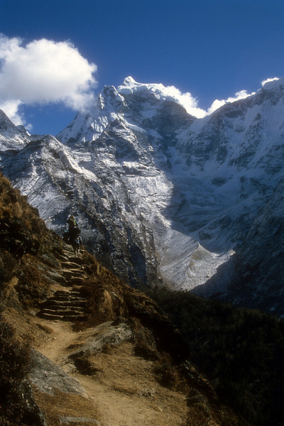 The trail to Tengpoche Gonda, Kumbu, Nepal