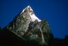 Nuptse 7879 meters. low peak in Kumbu, Nepal