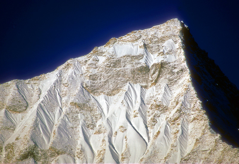 Unknown himalayian peak in Kumbu, Nepal