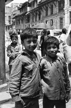 Kathmandu Boys #1a - Kathmandu, Nepal
