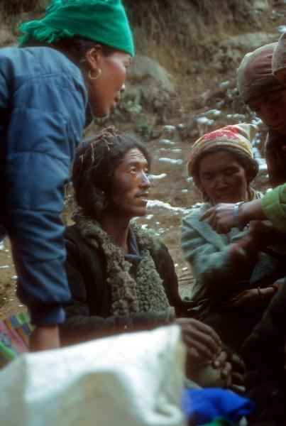 Headman, Tibetian Traders, Namche Bazar Kumbu, Nepal