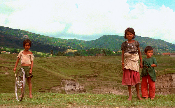Young Children #1 - Kathmandu, Nepal