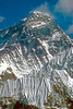 Mt Everest, Sagarmatha,  8383 Meters. Kumbu, Nepal  This is the south face most climbs go up the right ridge.