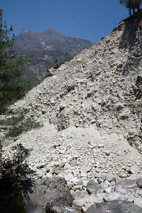 Landslide from the 2015 Earthquake