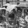 Sleeping Rickshaw Driver #1 - Kathmandu, Nepal