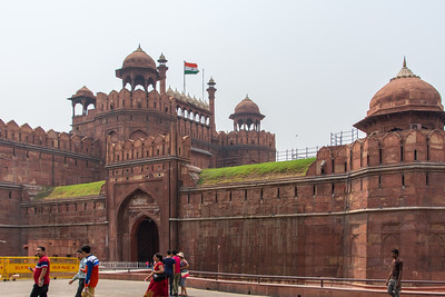 The Red Fort of Delhi