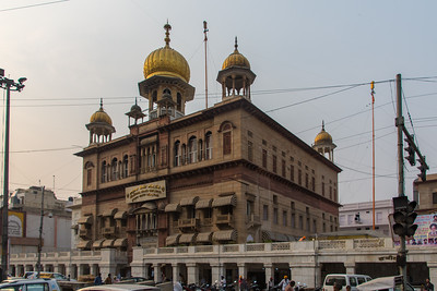 Gurdwara Sis Ganj Sahib in Old Delhi.
