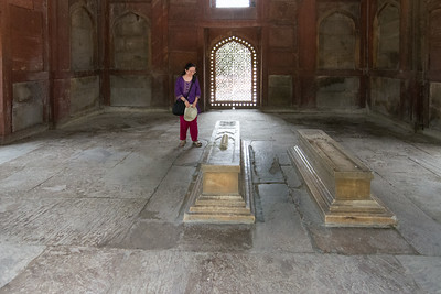 Cenotaph of Barber's Tomb in the Humayun's Tomb complex.