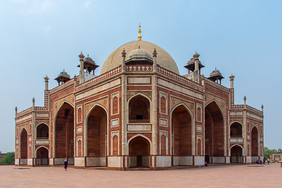 Humayun's Tomb from one of the corners