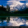 Pakistan - Life along Scenic & Remote Areas of Karakoram Highway - Area of Nanga Parbat - Killer Mountain - 8126m - Fairy Meadows