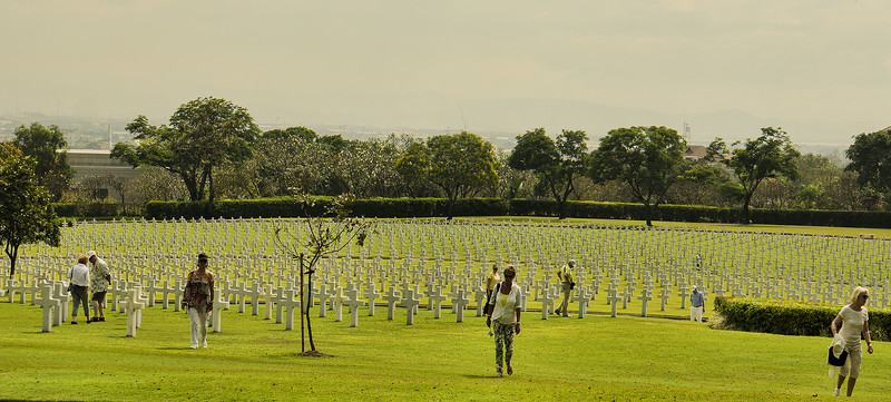 Philippines - American Cemetery - March 2015