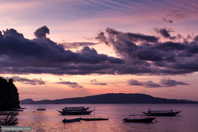 Sabang at sunset