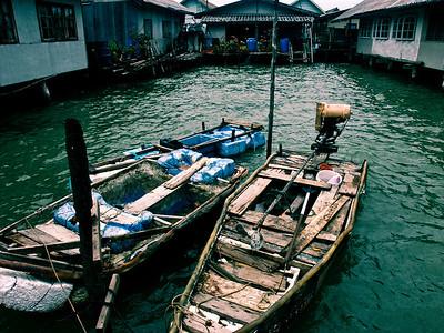 Boats on Ko Panyi