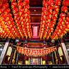 "Singapore - Chinatown - Traditional Chinese quarters of town with lot of own charm - Niu Che Shui - 牛车水 - Kreta Ayer - Leong San See Temple - ""Dragon Mountain Gate Temple"" - Oldest Buddhist temples in Singapore"