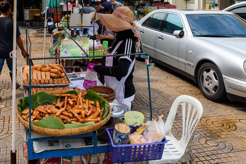 Bangkok Street Food Vendor