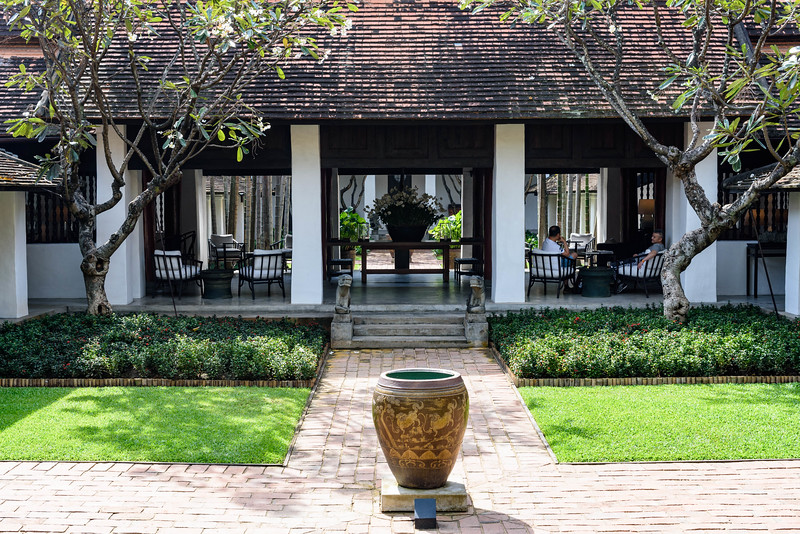 Courtyard, The Rachamankha, Chiang Mai