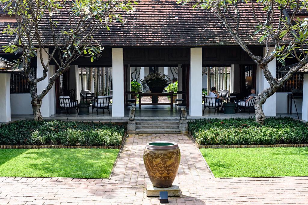 Courtyard, The Rachamankha, Chiang Mai