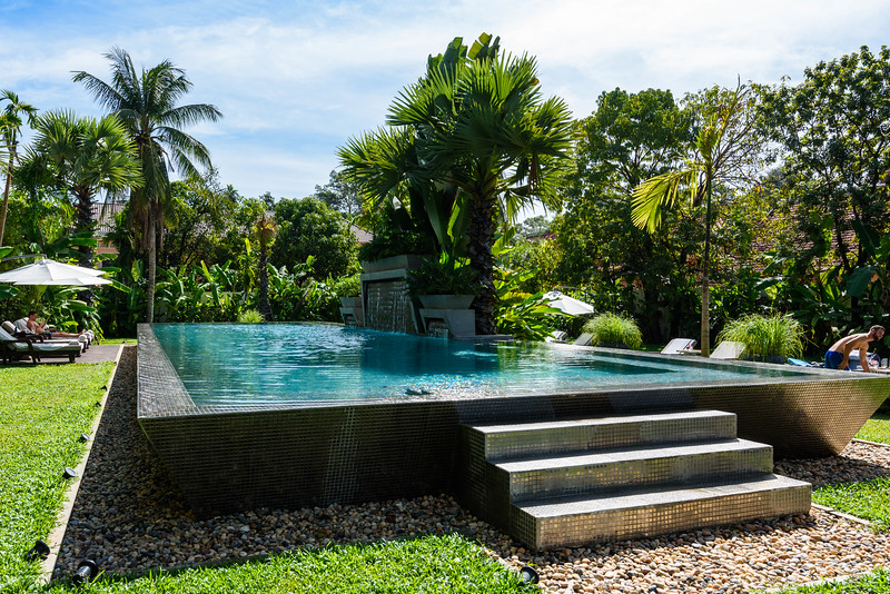 Silver Pool, Jaya House River Park, Siem Reap