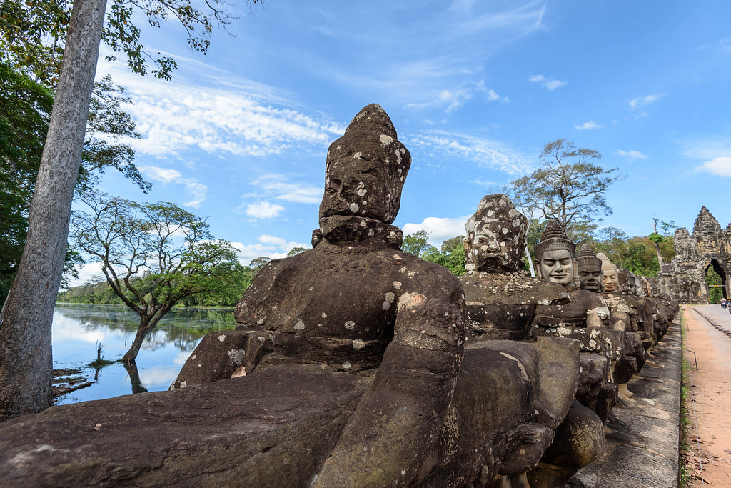 South Gate Bridge, Angkor Thom