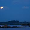 Moonlight on the Tonle Sap, Cambodia
